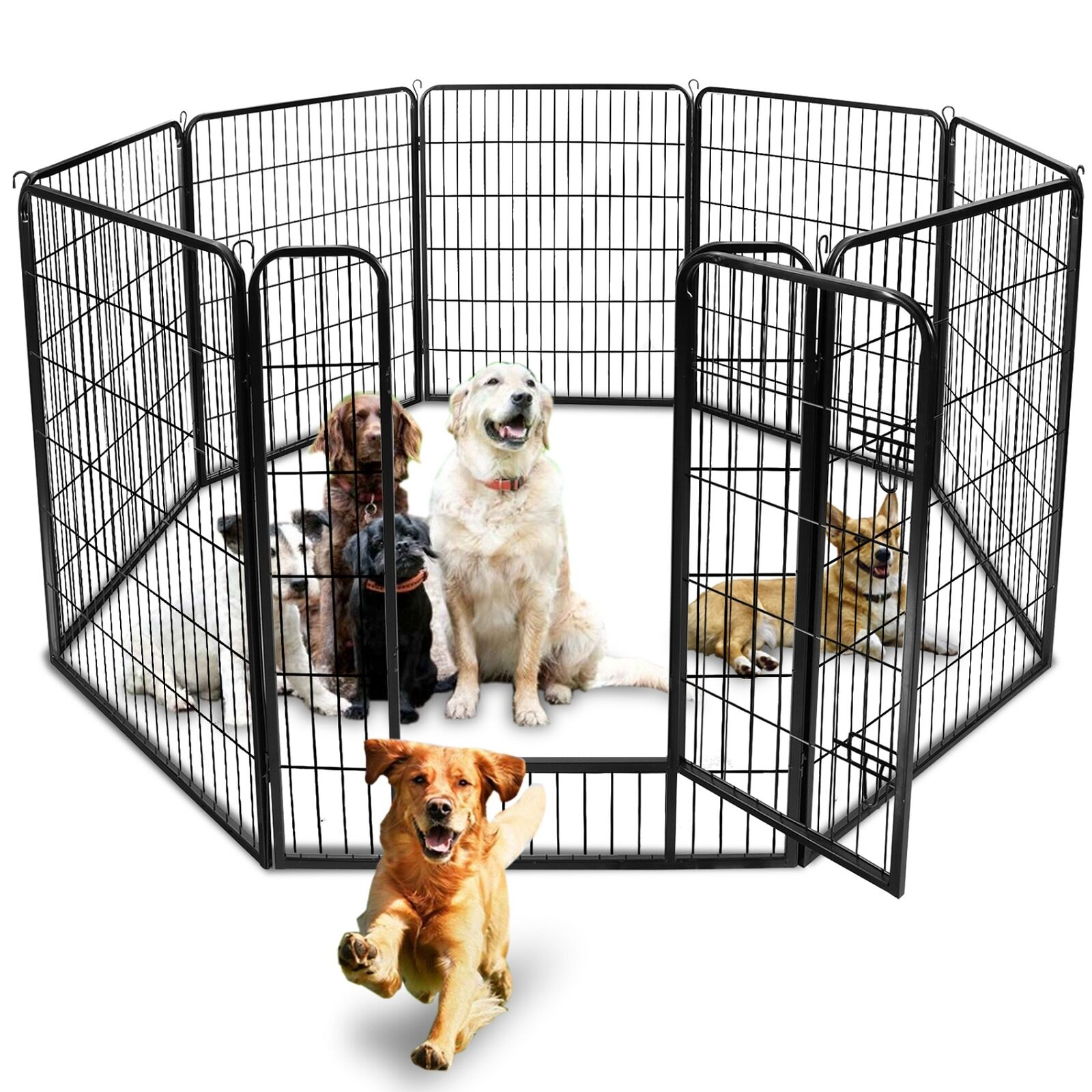 Dog Pen Pet Fence Animal Playpen